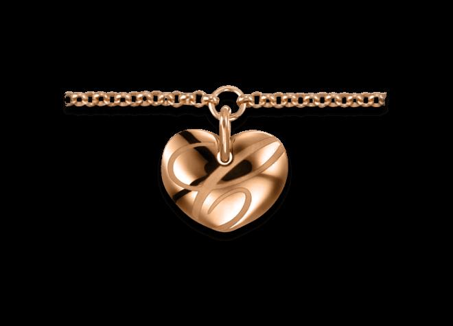 Armband mit Anhänger Chopard Chopardissimo Herz aus 750 Roségold