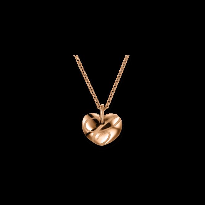 Halskette mit Anhänger Chopard Chopardissimo Herz aus 750 Roségold