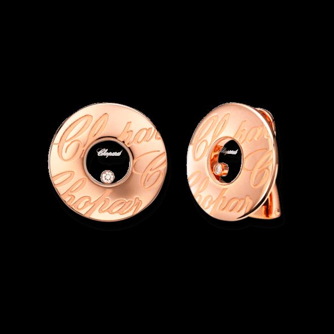 Ohrstecker Chopard Chopardissimo aus 750 Roségold mit 2 Brillanten (2 x 0,03 Karat)
