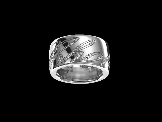 Ring Chopard Chopardissimo aus 750 Weißgold mit mehreren Brillanten (0,28 Karat)