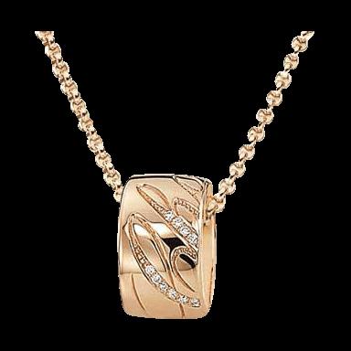 Chopard Halskette mit Anhänger Chopardissimo rund 796580-5003