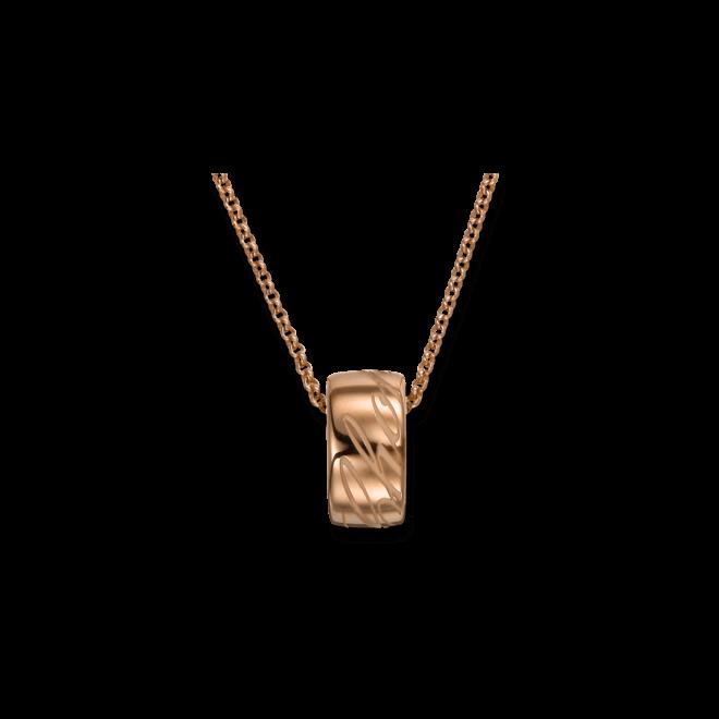 Halskette mit Anhänger Chopard Chopardissimo rund aus 750 Roségold