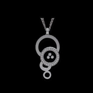 Chopard Halskette mit Anhänger Happy Bubbles 796985-1001