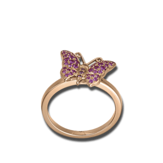 Chopard Ring Happy Butterfly 829464-5110+