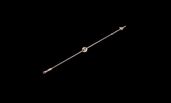 Armband Chopard Happy Curves aus 750 Roségold mit 3 Brillanten (0,08 Karat)