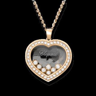 Chopard Halskette mit Anhänger Happy Curves 799202-5003