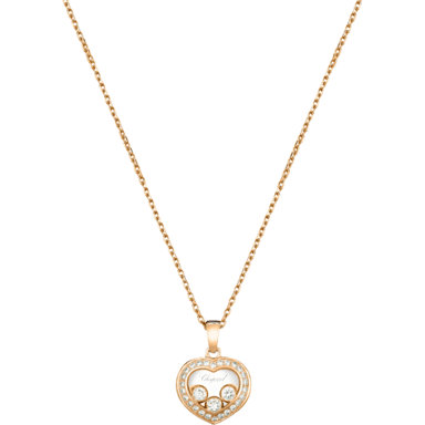 Chopard Halskette mit Anhänger Happy Curves 799203-5003