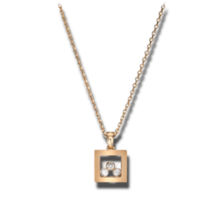Chopard Halskette mit Anhänger Happy Curves 799224-5001