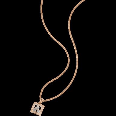 Chopard Halskette mit Anhänger Happy Curves 799224-5003