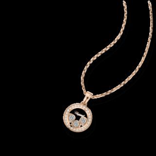 Chopard Halskette mit Anhänger Happy Curves 799562-5003