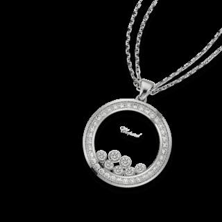 Chopard Halskette mit Anhänger Happy Curves 799569-1002