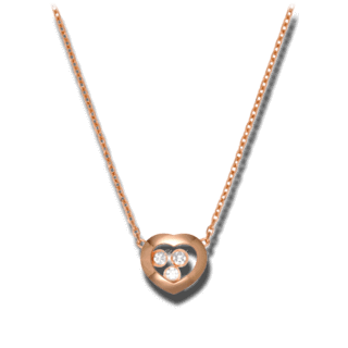 Chopard Halskette mit Anhänger Happy Curves 819203-5001