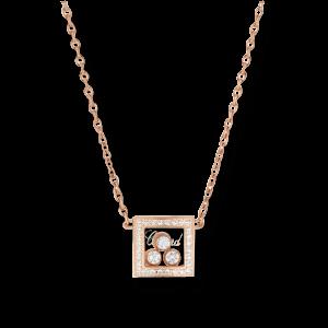 Chopard Halskette mit Anhänger Happy Curves 819224-5002