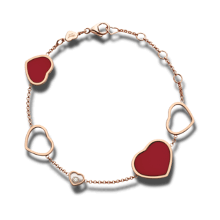 Chopard Armband mit Anhänger Happy Hearts 857482-5081