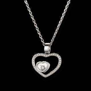 Chopard Halskette mit Anhänger Happy Hearts 797482-1002