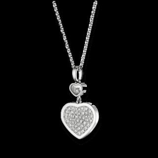 Chopard Halskette mit Anhänger Happy Hearts 797482-1009