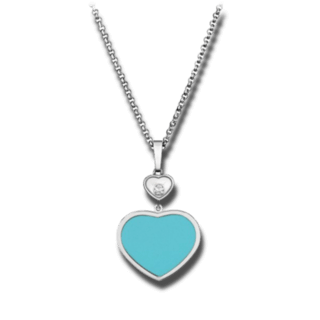 Chopard Halskette mit Anhänger Happy Hearts 797482-1401