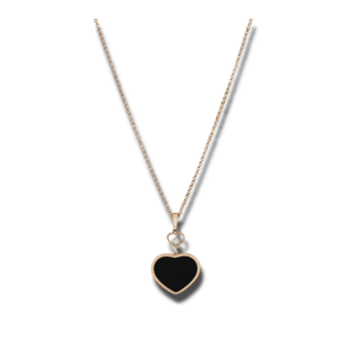 Chopard Halskette mit Anhänger Happy Hearts 797482-5201