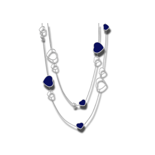 Chopard Halskette mit Anhänger Happy Hearts 817482-1501