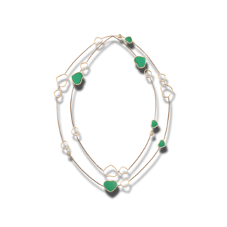 Chopard Halskette mit Anhänger Happy Hearts 817482-5101