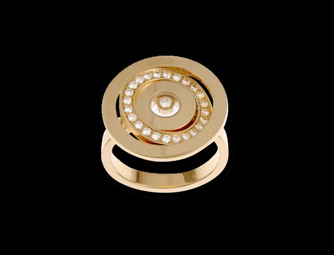 Ring Chopard Happy Spirit aus 750 Roségold mit mehreren Brillanten (0,34 Karat)