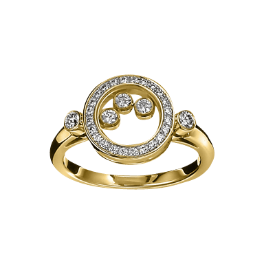 Chopard Ring Icons Animations 823957-0110+