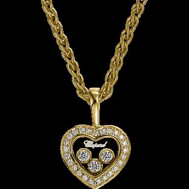 Chopard Halskette mit Anhänger Icons Heart 794502-0001