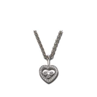 Chopard Halskette mit Anhänger Icons Heart 794502-1001