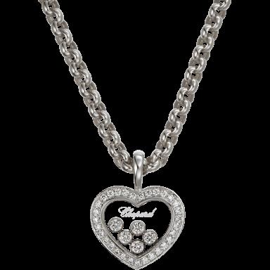 Chopard Halskette mit Anhänger Icons Heart 794516-1001