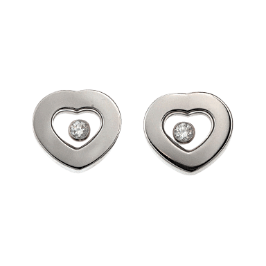 Chopard Ohrstecker Icons Heart 832897-1001