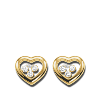 Chopard Ohrstecker Happy Diamonds Icons 834611-0001