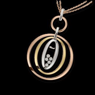 Chopard Halskette mit Anhänger Icons Oval 799431-9001