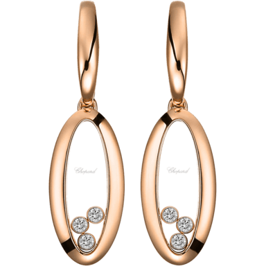 Chopard Ohrhänger Icons Oval 849092-5001