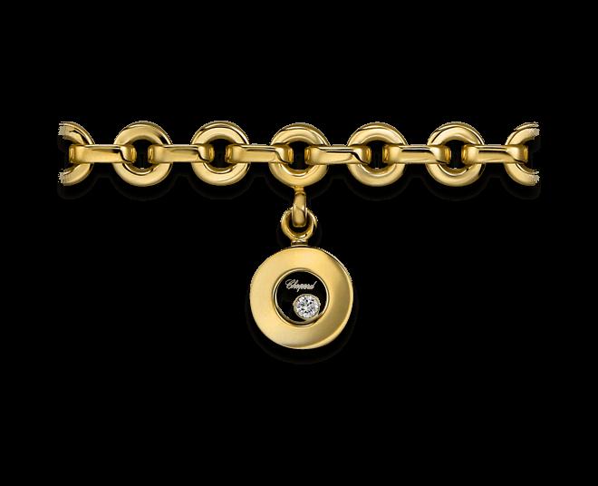 Armband mit Anhänger Chopard Icons Round aus 750 Gelbgold mit 1 Brillant (0,04 Karat)