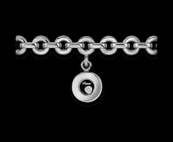 Armband mit Anhänger Chopard Icons Round aus 750 Weißgold mit 1 Brillant (0,04 Karat)