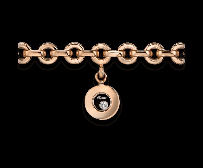 Armband mit Anhänger Chopard Icons Round aus 750 Roségold mit 1 Brillant (0,04 Karat)