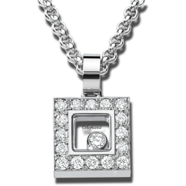 Chopard Halskette mit Anhänger Icons Square 792896-1001