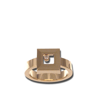 Chopard Ring Icons Square 822938-0110+