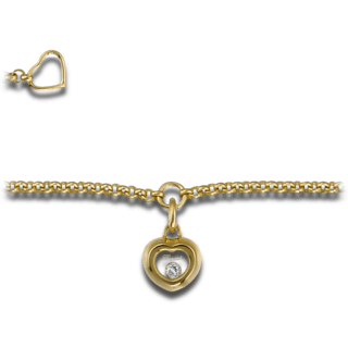 Chopard Armband mit Anhänger Miss Happy 859006-0001