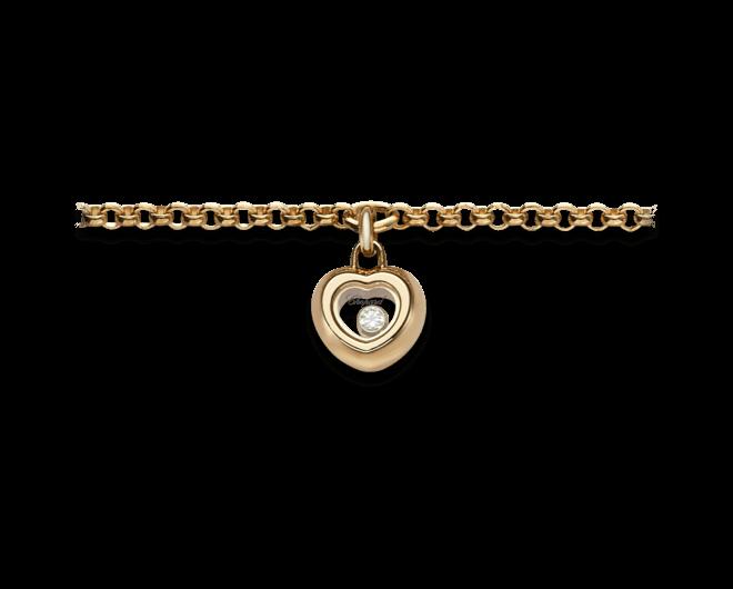 Armband mit Anhänger Chopard Miss Happy aus 750 Roségold mit 1 Brillant (0,03 Karat)