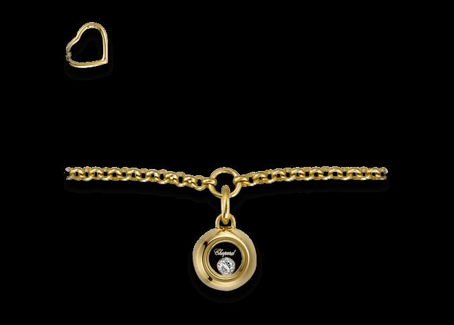 Armband mit Anhänger Chopard Miss Happy aus 750 Gelbgold mit 1 Brillant (0,03 Karat)