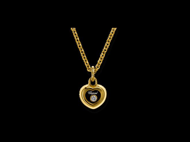 Halskette mit Anhänger Chopard Miss Happy aus 750 Gelbgold mit 1 Brillant (0,03 Karat)
