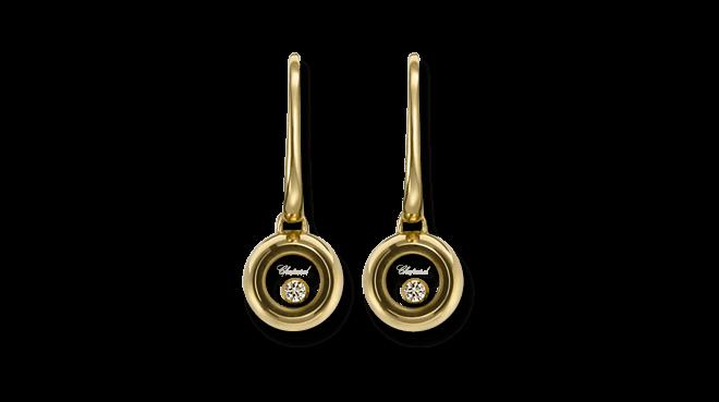 Ohrhänger Chopard Miss Happy aus 750 Gelbgold mit 2 Brillanten (2 x 0,03 Karat)