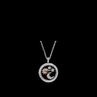 Chopard Anhänger Sonne, Mond und Sterne 799434-9905