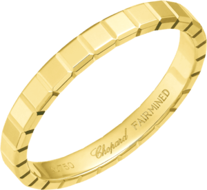 Ring Chopard Ice Cube aus 750 Gelbgold