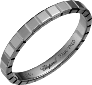 Ring Chopard Ice Cube aus 750 Weißgold