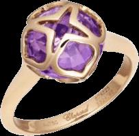 Ring Chopard Cocktail Jewellery aus 750 Roségold mit 1 Amethyst