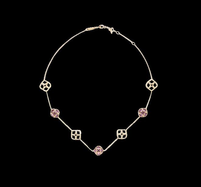 Halskette Chopard Imperiale aus 750 Roségold mit 3 Amethysten