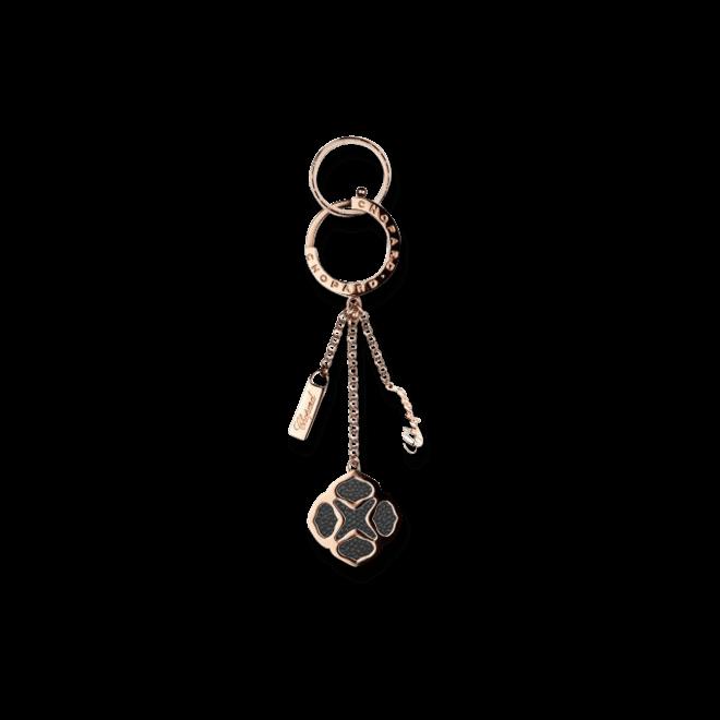 Schlüsselanhänger Chopard Imperiale Icon aus Messing und Kalbsleder