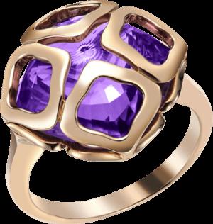 Ring Chopard Imperiale aus 750 Roségold mit Amethyst